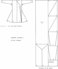 Persian Costuming - Pattern and instructions for making Ottoman Kaftan Robe Viking Garb, Viking Reenactment, Viking Costume, Historical Costume, Historical Clothing, Historical Dress, Pattern Cutting, Pattern Making, Larp