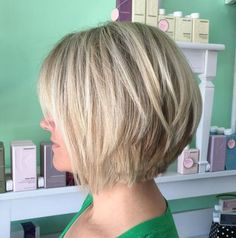 Ash Blonde Bob With