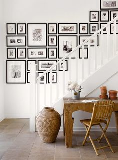 Beautiful gallery wall