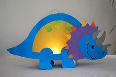 Make lanterns- Dino lantern more - Paper Dinosaur, Dinosaur Crafts, Dinosaur Dinosaur, Diy And Crafts, Crafts For Kids, Arts And Crafts, Paper Crafts, Lantern Craft, Dinosaur Birthday Party