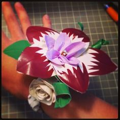 Duck Tape corsage