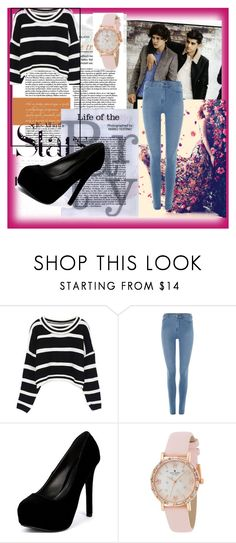 """Party-All Day All Night"" by brenda-199 ❤ liked on Polyvore featuring Dr. Denim, Qupid, Kate Spade and Karl Lagerfeld"