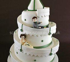 Helter Skelter Wedding Cake - PJ x