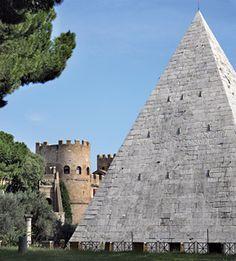 Piramide Cestia, Rome