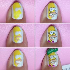 """Determine even more details on """"nail paint ideas polish easy"""". Look into our internet site. Nail Art Hacks, Gel Nail Art, Gel Nails, Acrylic Nails, Nail Polish, Minimalist Nails, Nail Swag, Nagel Bling, Bright Red Nails"""