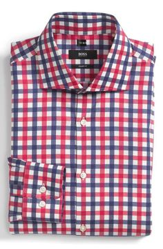 Sharp Fit Dress Shirt.. I personally have this and it's a great look at any season.