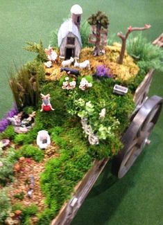 A fairy garden I saw at the Atlanta market. Atlanta Market, Fairy Gardens, Table Decorations, Home Decor, Homemade Home Decor, Decoration Home, Dinner Table Decorations, Interior Decorating, Center Pieces