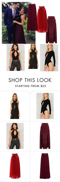 """""""Jojo Fletcher Inspired #LooksForLess"""" by sawit on Polyvore featuring Misha Collection, Bardot, WithChic, Chicwish and Jolie Moi"""