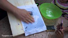 перенос картинок на дерево | gel medium transfer / foto transfer potch glue