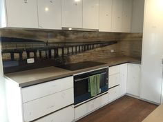 Seein Glass Designs is Melbourne's most experienced and trusted manufacturer of professional and high-quality custom Printed Glass Splashbacks. Kitchen Backsplash, Kitchen Cabinets, Printed Glass Splashbacks, Interior Design Gallery, Kitchen Decor, Kitchen Ideas, Common Area, Glass Design, Countertops