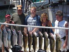 Steve Lendra Derrick Kevin & I fishing lake Erie