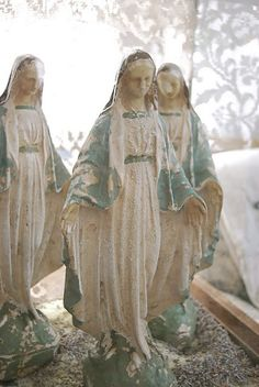 """sweet, powerful,  a pack of """"Marys"""".......and one Margaret that would be my Mom the very sweet one."""