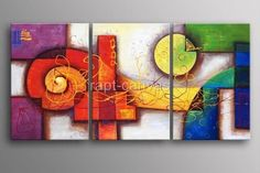 Wholesale Painting - Buy from Artist T63 Art Handmade Abstract Oil Painting on Canvas Modern 100% Handmade Original Directly, $69.04   DHgat...