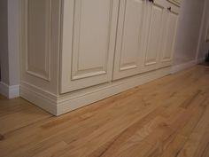 Kitchen Island Kick Plate, Kitchen Cabinets Toe Kick, Cabinet Toe Kick, Cabinet Trim, Kitchen Cabinet Storage, Cabinet Drawers, Bath Cabinets, Kitchen Themes, Kitchen Colors