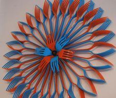 Plastic forks: