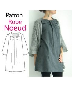 Patron robe Noeud