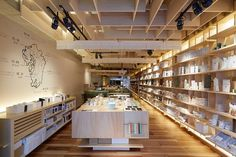 Located in Fukuoka on the Japanese island of Kyushu, 151E—pronounced ichi-go ichi-e (a phrase that was also the Japanese title of the movie Forrest Gump)—sells tea produced in each of the region's seven prefectures. Design and branding firm Planning ES is responsible for the interiors—a contemporary take on traditional teahouses—and the pristine white product packaging. The shop also offers sweets like the popular matcha green tea granola. Chuo-ku, Fukuoka Kego 1.15.51.1F, Fukuoka, Japan…