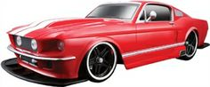 MAISTO 1967 FORD MUSTANG GT (RED) Cars China 8 Years + offered by www.shopit4me.com