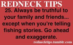 REDNECK TIPS • Posts Tagged 'r