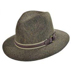 336730346d8ce Stetson Web Band Safari Fedora - Olive · Leather HatsFedora ...