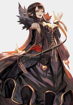 Assassin of Red【Fate/Apocrypha】 Fantasy Characters, Female Characters, Anime Characters, Manga Art, Manga Anime, Anime Art, Character Concept, Character Art, Character Design