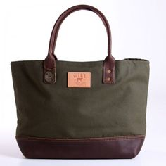 Will Leather Goods - Utility Tote  This looks incredibly useful!