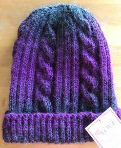 Patterns | Knots of Love Beanie Knitting Patterns Free, Easy Crochet Patterns, Knitting Designs, Simple Crochet, Hat Patterns, Knitting Projects, Loom Knit Hat, Loom Knitting, Knitted Hats