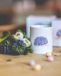 Hedgehog mug Mother's Day gift for her by WoodlandDesignsUK