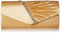 Damara Elegant Strassstein Damen Abendtasche Handtasche,Champagne: Amazon.de: Schuhe & Handtaschen
