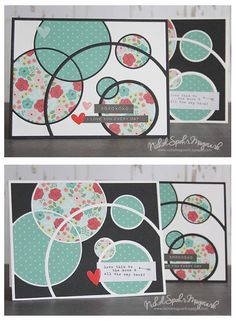 Nichol used the Mod Circle Frame die to create lots of layers without the bulk! Very cute. https://www.simonsaysstamp.com/product/Simon-Says-Stamp-MOD-CIRCLE-FRAME-Craft-Dies-S274-DieCember-S274