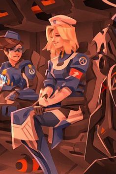 Overwatch - Mercy Medic; Operation: Uprising
