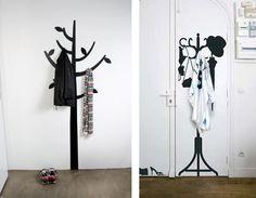 Собрание идей оригинальных вешалок для одежды