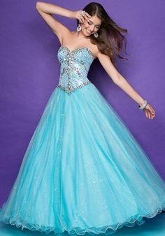 Blush 5240 at Prom Dress Shop, i think this looks like the cinderella dress.