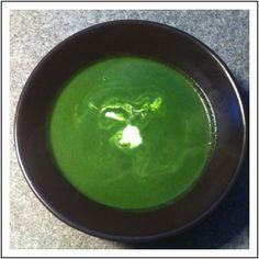 Spinazie rozemarijn soep