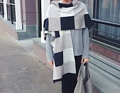 @lululemon wrap scarf, sweater & leggings