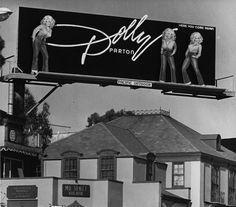 Dolly Parton Billboard, Los Angeles, 1978