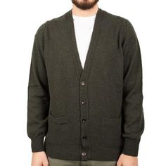 Knitted Ls Vn Cardigan
