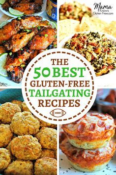 Gluten Free Party Food, Gluten Free Food List, Gluten Free Apple Pie, Gluten Free Appetizers, Gluten Free Recipes For Dinner, Foods With Gluten, Appetizer Recipes, Gluten Free Potluck, Gluten Free Lunch Ideas