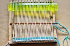 emuse: Weaving loom and woven mat