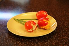I love salad recipes! Here is a cute salad recipe idea! This Tomato Tulip Salad recipe is great for a ladies luncheon or any spring or summer gathering!