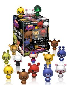 Five Nights at Freddy's Pint Size Heroes figures by Funko