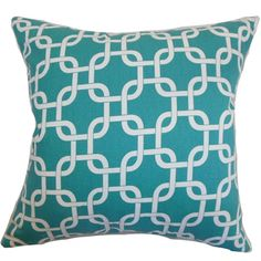 http://ak1.ostkcdn.com/images/products/9095234/Qishn-Geometric-Turquoise-Feather-Filled-18-inch-Throw-Pillow-P16283743.jpg