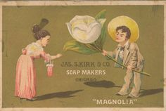 Magnolia Soap vintage advertisement