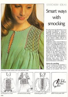 smart ways with smocking @Heather Pheasant Hay