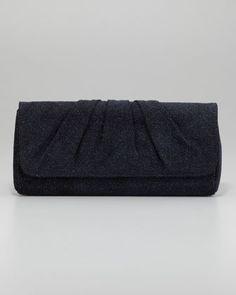 Caroline Crystallized Clutch Bag, Cobalt by Lauren Merkin at Neiman Marcus.