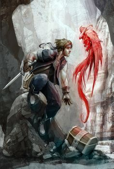 FF6: Locke by *JNickBlack on deviantART...#fantasy #art #pirate...Please follow my boards. Thanks!