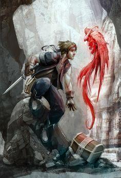 FF6: Locke by *JNickBlack on deviantART...#fantasy #art #pirate...Please follow my boards. Thanks!