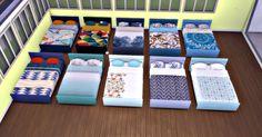My Sims 4 Blog: Mattress Recolors by Fallenstar1119