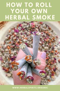 We offer our unique herbal smoking blends to help you quit smoking cigarettes in & mason jars so you can SAVE MONEY & roll your own herbal s Herbal Witch, Witch Herbs, Herbal Magic, Herbal Tea, Healing Herbs, Medicinal Herbs, Natural Healing, Herbal Remedies, Health Remedies