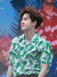 "170814 SUHO at Yesterday's ""The War"" Public Fansign"